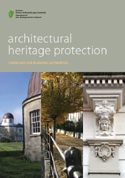 Architectural Heritage Protection - Guidelines for Planning Authorities