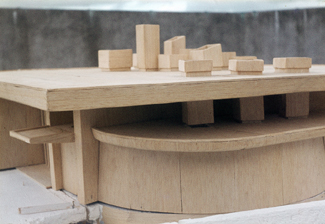 Bantry Library 02 - Architect's Model