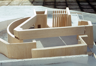 Bantry Library 03 - Architect's Model
