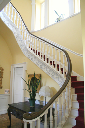 Belvedere House 04 - Staircase Hall