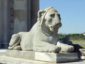 Casino at Marino 02 - Recumbent Lion