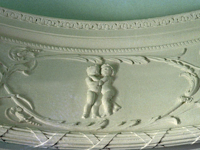 Casino at Marino 07 - Zodiac Room Plasterwork (Gemini)
