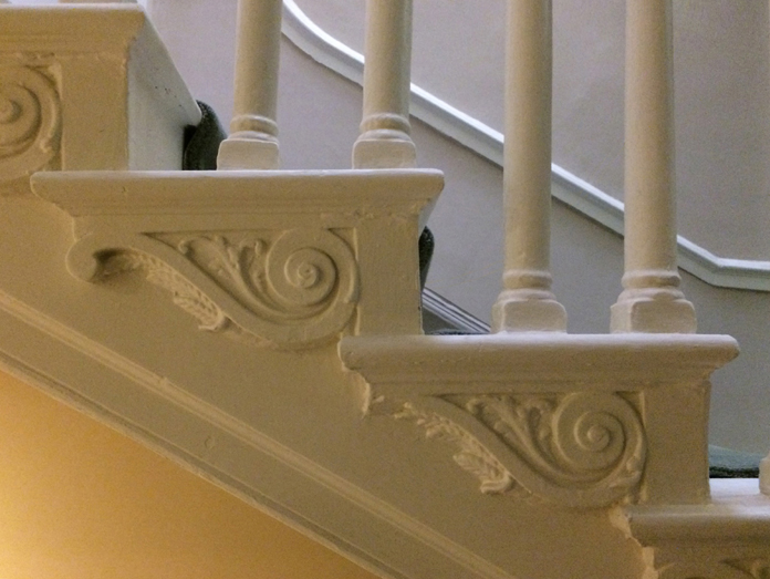 City Assembly House, 58 South William Street 04 - Staircase