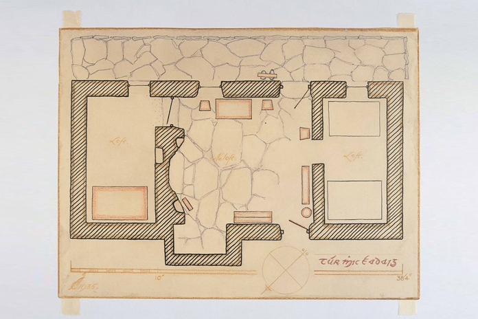Irish Folklife Architectural Drawing Collection 03 - Tuar Mhic Eadaigh, Contae M
