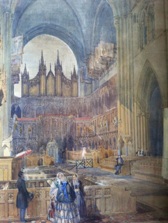 Saint Patrick's Cathedral, Dublin 06 – The Choir (1850)