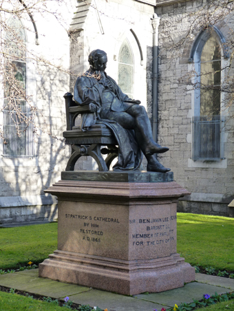 Saint Patrick's Cathedral, Dublin 11 – Sir Benjamin Lee Guinness (1798-1868)