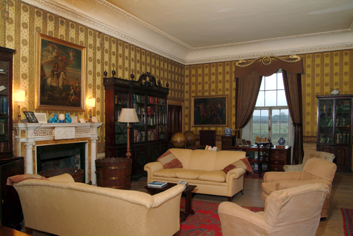 Strokestown Park House 04 - Library