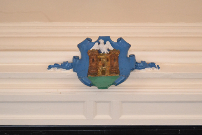 The Athenaeum, Enniscorthy 16 - Main Hall Coat of Arms