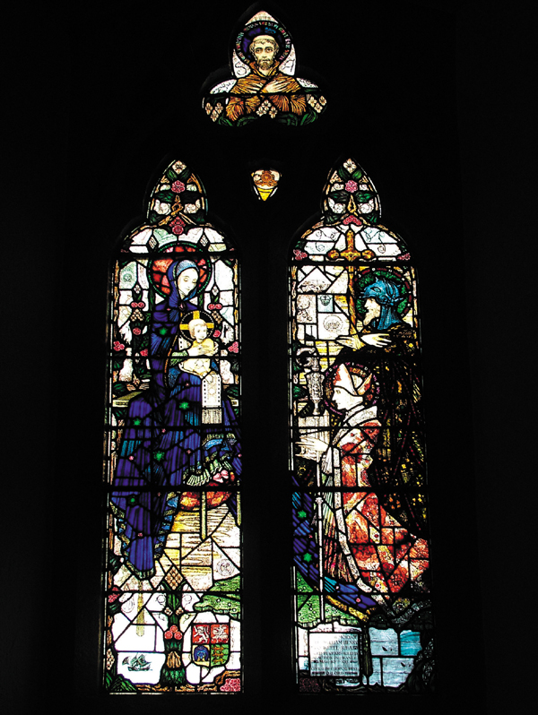 "Wexford Town's ""Twin Churches"" 08 - O'Keefe Memorial Window (1918)"