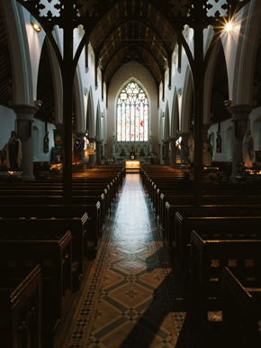"Wexford Town's ""Twin Churches"" 09 - Rowe Street Interior"