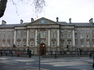West Front, Trinity College, Dublin 2, Dublin City: Buildings of