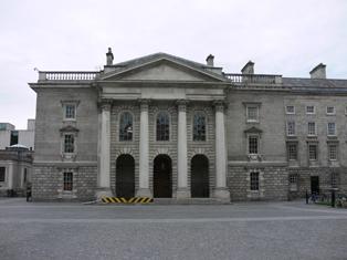 Examination Hall, Trinity College, Dublin 2, Dublin City: Buildings